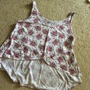 Cotton On Pink Flower High low top